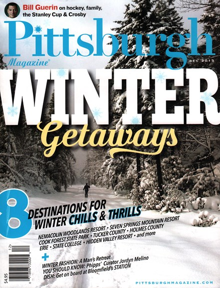 Pittsburgh Magazine Cover - 12/1/2015