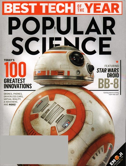 Popular Science Cover - 12/1/2015