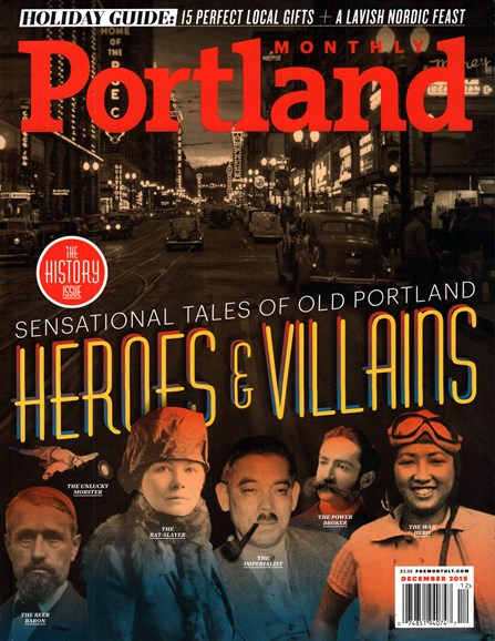 Portland Monthly Cover - 12/1/2015