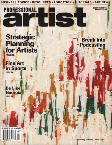 Professional Artist Cover - 12/1/2015
