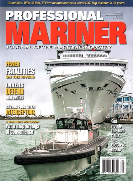 Professional Mariner Cover - 12/1/2015