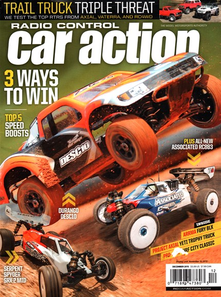 Radio Control Car Action Cover - 12/1/2015