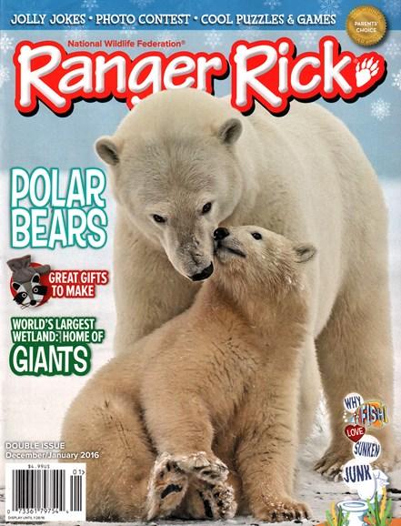 Ranger Rick Cover - 12/1/2015