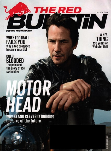 The Red Bulletin Cover - 12/1/2015
