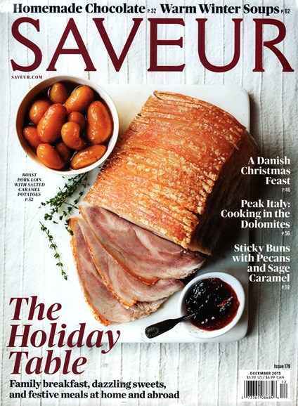 Saveur Cover - 12/1/2015