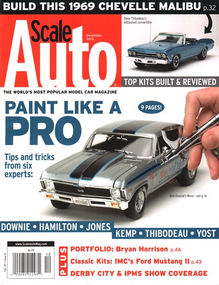 Scale Auto Magazine Cover - 12/1/2015