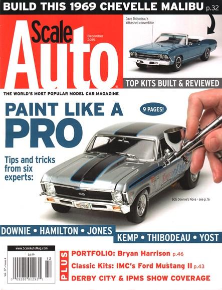 Scale Auto Magazine Cover - 12/1/2015