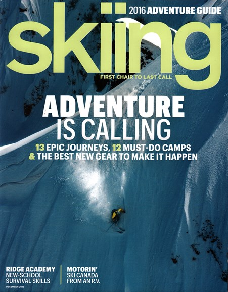 Skiing Cover - 12/1/2015