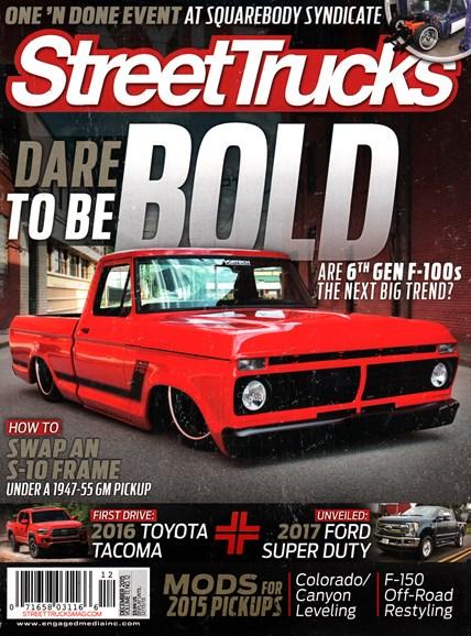 Street Trucks Cover - 12/1/2015