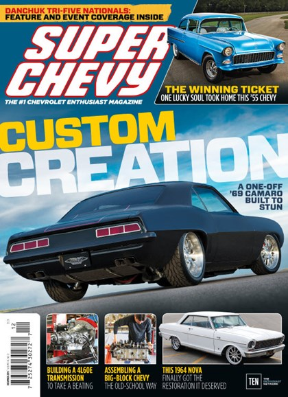 Super Chevy Cover - 12/1/2015