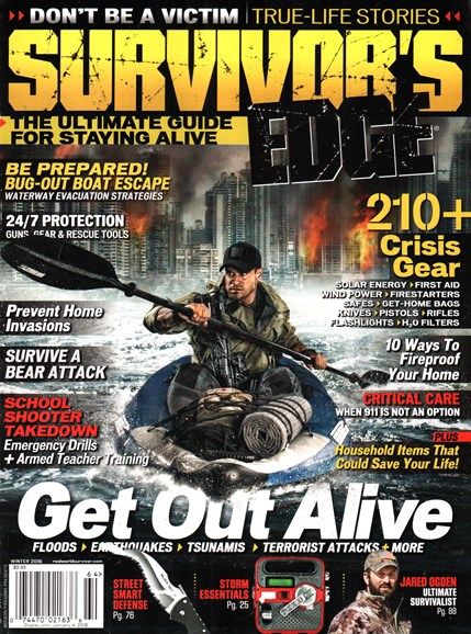 Survivor's Edge Cover - 12/1/2015