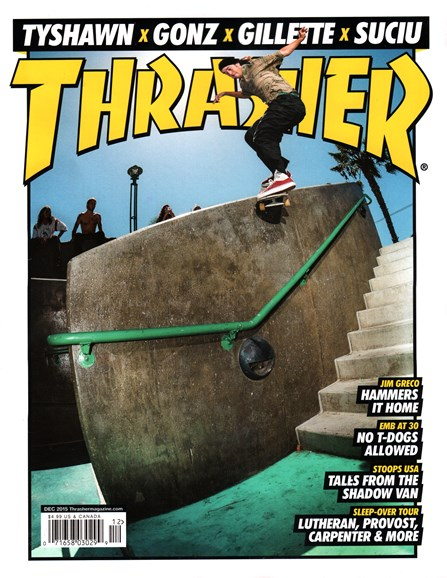 Thrasher Cover - 12/1/2015