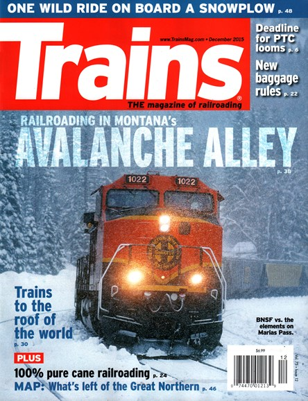 Trains Cover - 12/1/2015