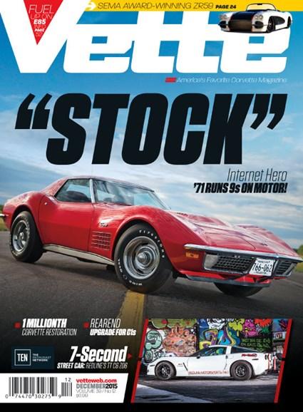 Vette Cover - 12/1/2015