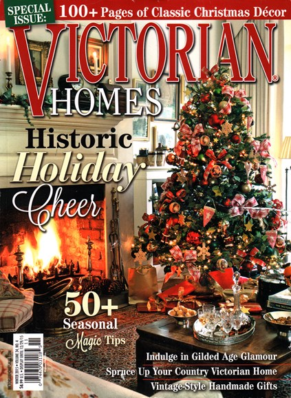 Victorian Homes Cover - 12/1/2015