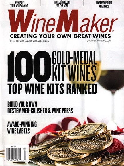 Winemaker Cover - 12/1/2015
