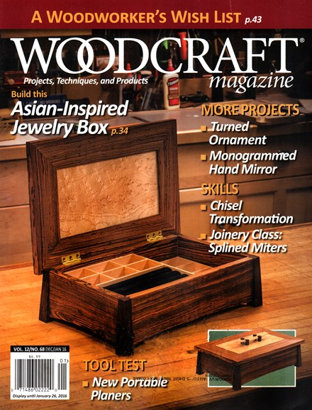 Woodcraft Cover - 12/1/2015