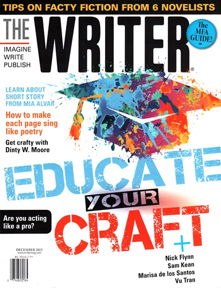 The Writer Cover - 12/1/2015