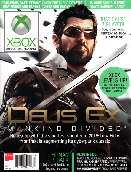 Official Xbox Magazine Cover - 12/22/2015
