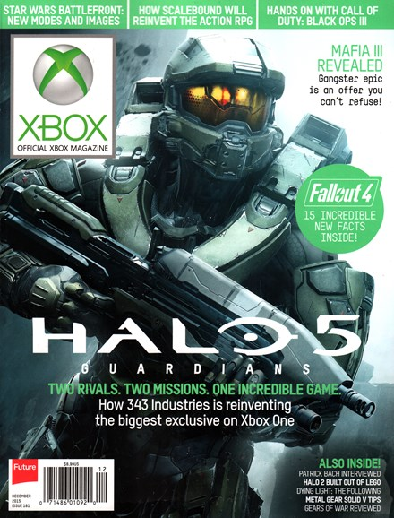 Official Xbox Magazine Cover - 12/1/2015