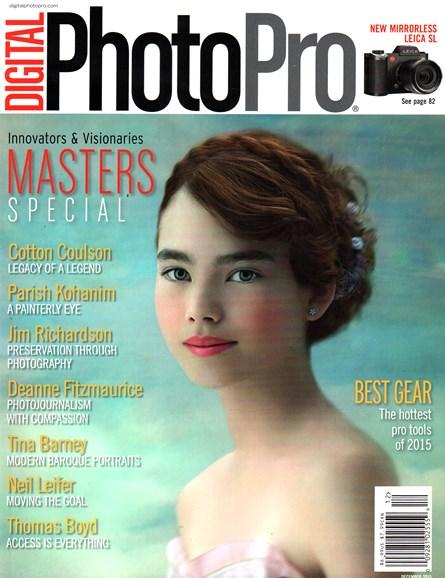 Digital Photo Pro Cover - 12/1/2015
