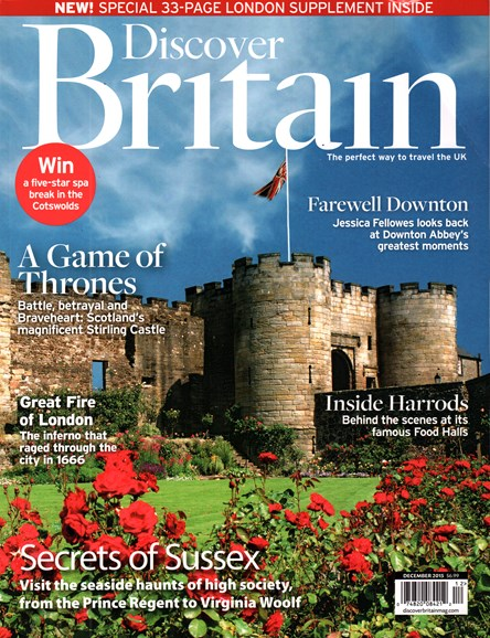 Discover Britain Cover - 12/1/2015