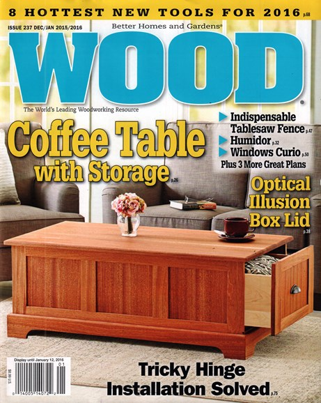 Wood Cover - 12/1/2015
