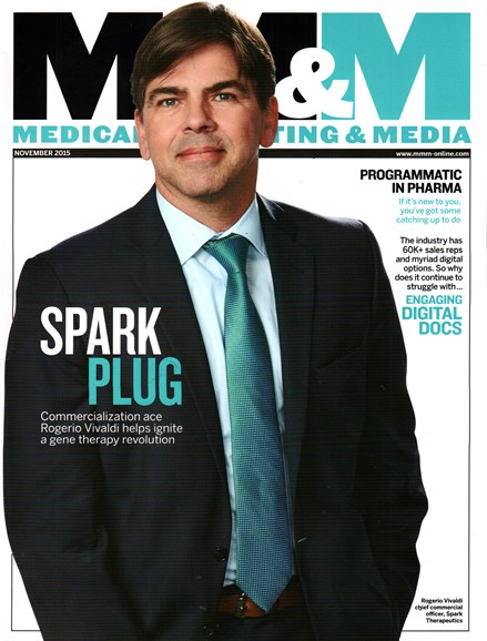 Medical Marketing & Media Cover - 11/1/2015