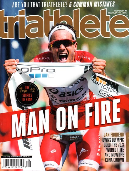 Triathlete Cover - 12/1/2015