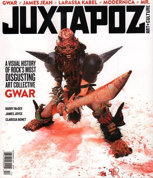 Juxtapoz Cover - 12/1/2015