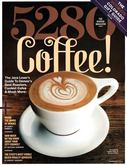 5280 Magazine Cover - 12/1/2015