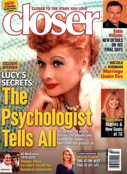 Closer Cover - 11/23/2015