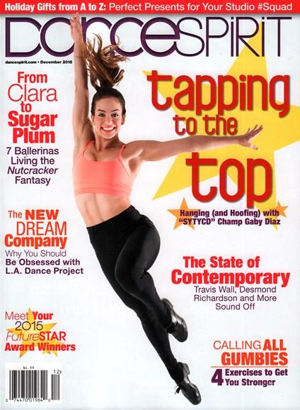 Dance Spirit Cover - 12/1/2015
