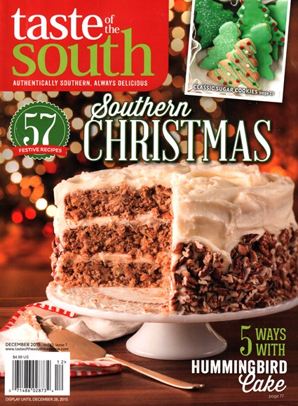 Taste of the South Cover - 12/1/2015