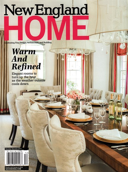 New England Home Cover - 11/1/2015
