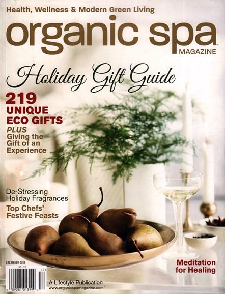 Organic Spa Cover - 12/1/2015