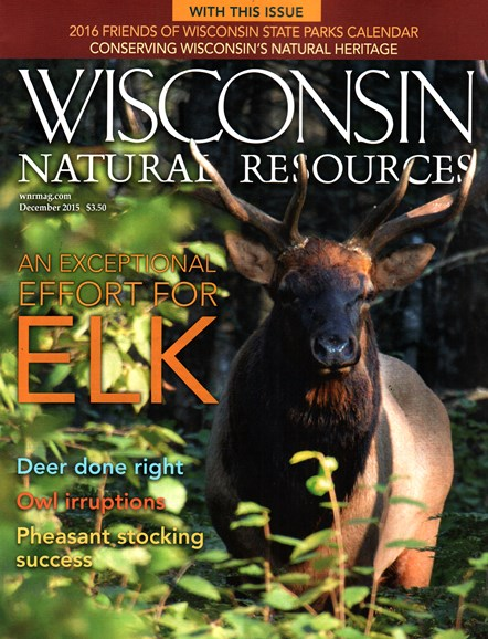 Wisconsin Natural Resources Cover - 12/1/2015