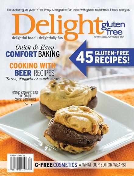 Delight Gluten Free Cover - 9/1/2015