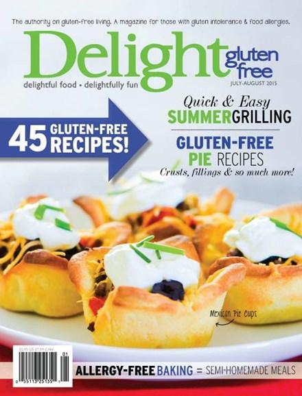 Delight Gluten Free Cover - 7/1/2015