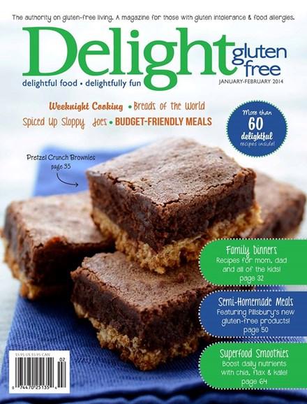 Delight Gluten Free Cover - 1/1/2014