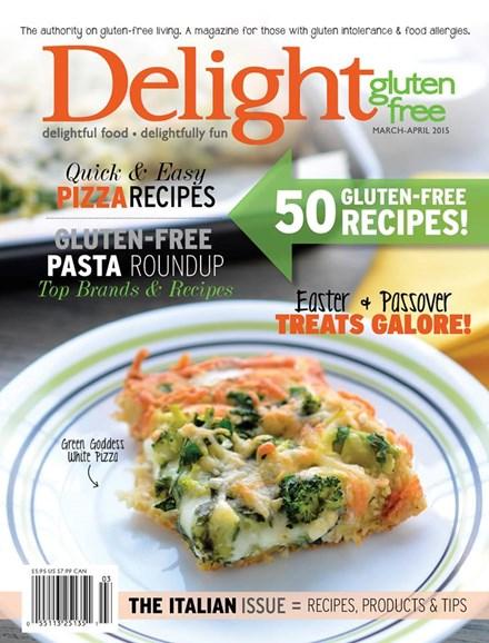 Delight Gluten Free Cover - 3/1/2015