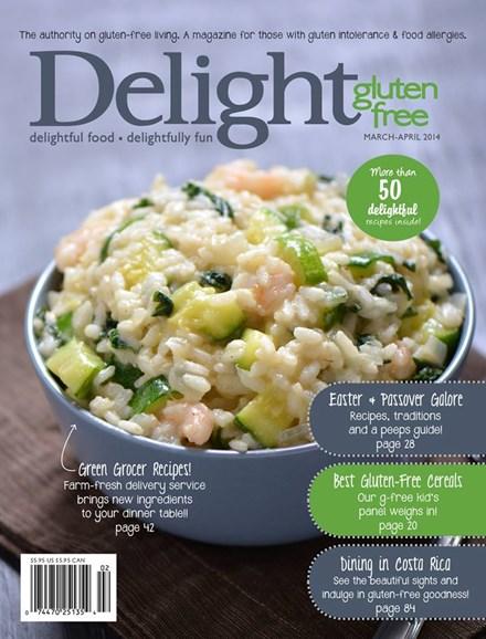 Delight Gluten Free Cover - 3/1/2014