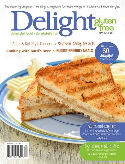 Delight Gluten Free Cover - 5/1/2014