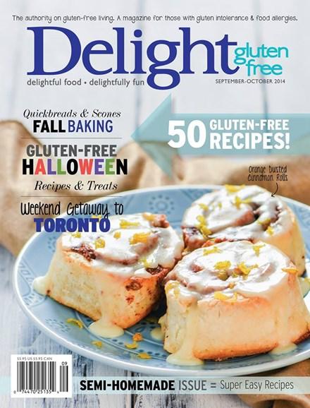 Delight Gluten Free Cover - 9/1/2014