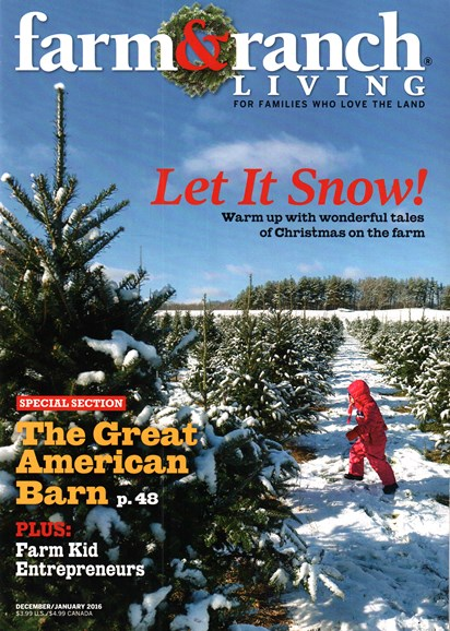 Farm & Ranch Living Cover - 12/1/2015