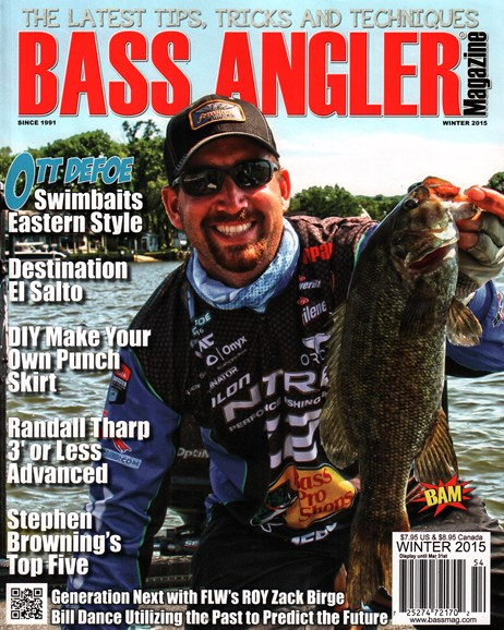Bass Angler Cover - 12/1/2015