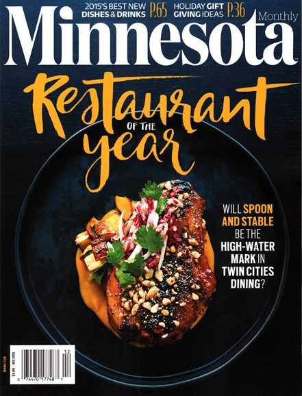 Minnesota Monthly Cover - 12/1/2015