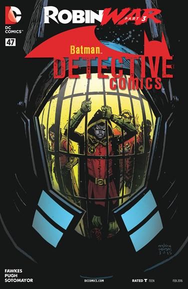 Detective Comics Cover - 2/1/2016