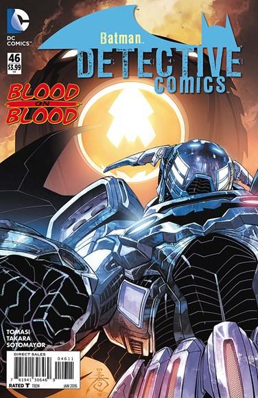 Detective Comics Cover - 1/1/2016