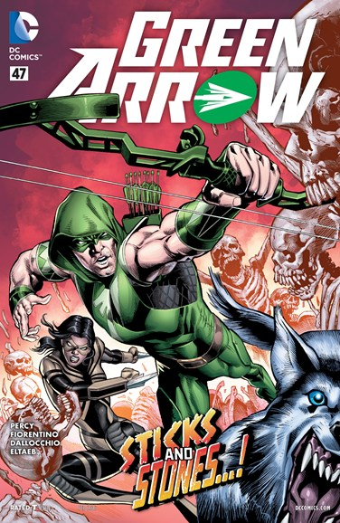 Green Arrow Cover - 2/1/2016